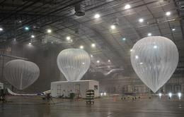 Khinh khí cầu phát sóng mạng di động sau bão ở Puerto Rico