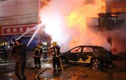 Cháy kho pháo tại Trung Quốc, ít nhất 5 người thiệt mạng