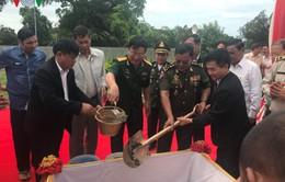 Khởi công xây dựng tượng đài hữu nghị Việt Nam - Campuchia tại Kep