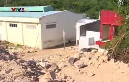 Khu dân cư Hòn Xện (Nha Trang) bất an khi sống dưới kênh thoát lũ hư hỏng