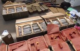 Tây Ban Nha thu giữ số lượng lớn vũ khí