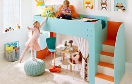 Những mẫu giường tầng khiến các bé thích mê