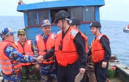 Kết thúc kiểm tra liên hiệp nghề cá Vịnh Bắc Bộ