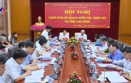 Kiểm tra phòng, chống tham nhũng tại Cao Bằng