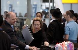 Các hãng hàng không kiểm tra an ninh hành khách tới Mỹ