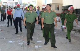 Bộ Công an kiểm tra hiện trường vụ cháy Công ty Kwong Lung - Meko