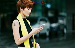 Kim Nhã mách nước chiến thắng Top Model Online 2017