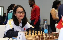 Kim Phụng tiếp tục gây bất ngờ tại giải cờ vua Fide mở rộng - London Classic 2017