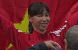 Trương Thị Kim Tuyền giành HCB Taekwondo thế giới đầu tiên cho đoàn Việt Nam