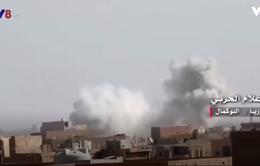 Liên quân không kích IS, hơn 800 dân thường thiệt mạng
