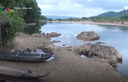 Bình Định: Sông Kôn sạt lở, người dân lo lắng