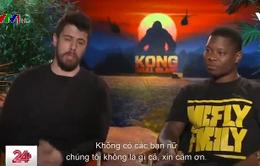 """Sao """"Kong: Skull Island"""" gửi lời chúc dễ thương tới phụ nữ Việt Nam"""