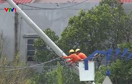 EVN đã khôi phục cấp điện cho Nghệ An, Thanh Hóa sau bão số 10