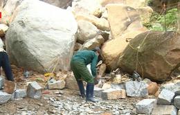 Hiểm họa rình rập ở các mỏ đá sau mùa mưa