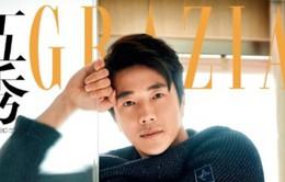 Kwon Sang Woo sở hữu thân hình đáng ngưỡng mộ ở tuổi 40
