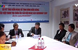 """Cộng đồng người Việt tại châu Âu gửi """"Kiến nghị thư"""" tới Thủ tướng Đức"""