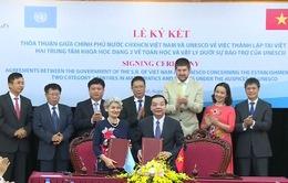 Thành lập trung tâm về Toán học và Vật lý do UNESCO bảo trợ