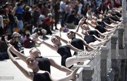 1.400 vũ công tham gia lễ hội ballet tại Tây Ban Nha