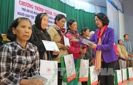 Đồng chí Trương Thị Mai thăm, tặng quà người nghèo tại Lâm Đồng