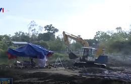 Dự án làm đường tại Nghệ An trước nguy cơ chậm tiến độ