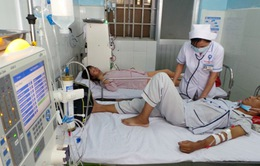 Tăng cường máy chạy thận phục vụ bệnh nhân vãng lai dịp Tết