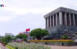 Quảng trường Ba Đình lịch sử trong ngày lễ Quốc khánh