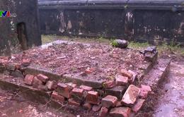 Khu lăng mộ của mẹ vua Dục Đức bị xâm hại