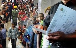 Malaysia truy quét lao động bất hợp pháp