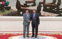 Campuchia - Lào thống nhất phân định biên giới