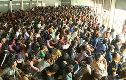 Lao động nước ngoài tại Thái Lan ồ ạt về nước