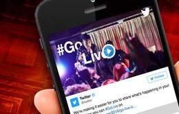 """Twitter và quân bài truyền hình trực tuyến: """"Cú đấm"""" dành cho Facebook"""