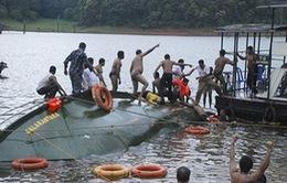 Ít nhất 19 người thiệt mạng trong vụ lật thuyền ở Ấn Độ