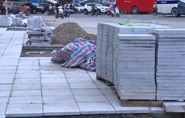 Hà Nội: Lát mới vỉa hè bằng đá tự nhiên