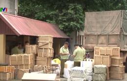 Lạng Sơn bắt giữ hơn 30 tấn hàng lậu