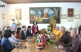 Đồng chí Trương Thị Mai làm việc với Giáo hội Phật giáo Lâm Đồng