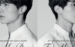 Lee Dong Wook cạo râu vì fan