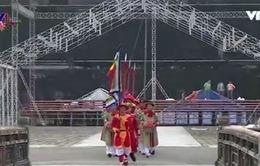 Tái hiện lễ đổi gác tại Ngọ Môn -  Đại Nội Huế