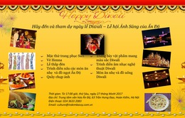 Lễ hội Ánh sáng Diwali của Ấn Độ sắp diễn ra tại Việt Nam