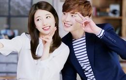 Suzy và Lee Jong Suk khiến fan phát sốt khi quay phim trên phố