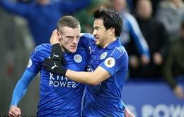 Vòng 26 giải Ngoại hạng Anh: Vardy tỏa sáng, Leicester City gây bất ngờ trước Liverpool