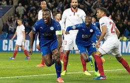 Kết quả vòng 1/8 Champions Leauge sáng 15/3: Juventus 1 - 0 Porto, Leicester 2 - 0 Sevilla