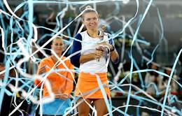 Simona Halep vô địch đơn nữ Madrid mở rộng 2017