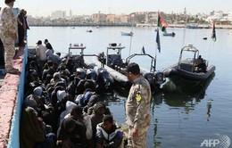 Lybia bắt giữ tàu chở lậu 6 triệu lít nhiên liệu ở Địa Trung Hải