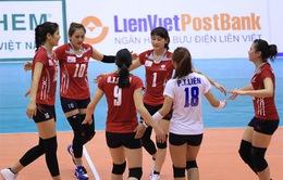 Vượt qua Ngân hàng Công thương, CLB Thông tin Liên việt Postbank gặp VTV Bình Điền Long An trong trận chung kết