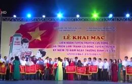 Khai mạc Liên hoan Tuyên truyền lưu động kỷ niệm 70 năm Ngày Thương binh - liệt sĩ