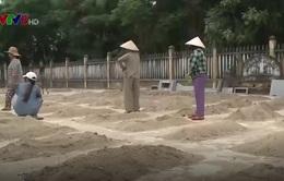 Sai sót trong việc tu bổ nghĩa trang liệt sỹ tại Quảng Nam