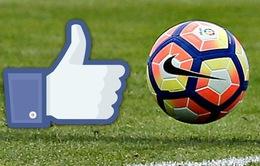 Champions League được phát sóng trực tiếp trên Facebook ở mùa giải 2017/18