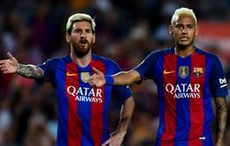 Messi: Barca ổn định hơn khi không có Neymar