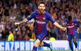 Messi cân bằng thành tích 4 lần giành Chiếc giày vàng châu Âu với C.Ronaldo
