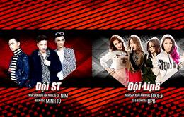 """The Remix: Lip B và S.T nhận """"vé vớt"""" tới vòng Liveshow"""